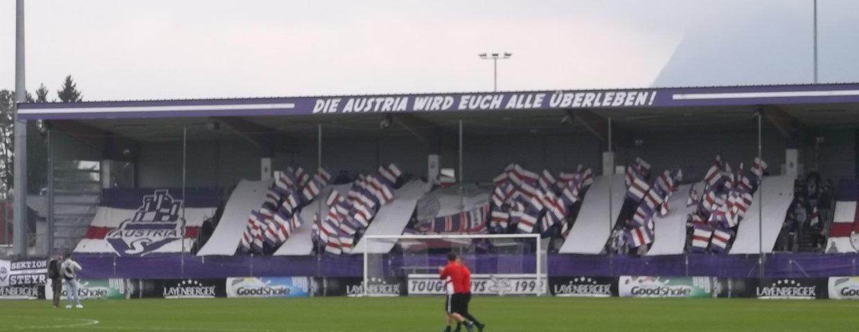 Austria Salzburg gegen SV Grödig 1:1