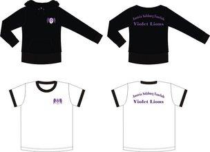 Kapuzenpullover und Shirt der Lions 2007